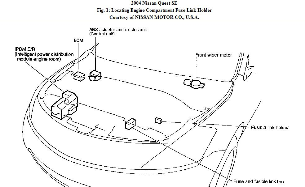 2009 nissan maxima headlights diagram