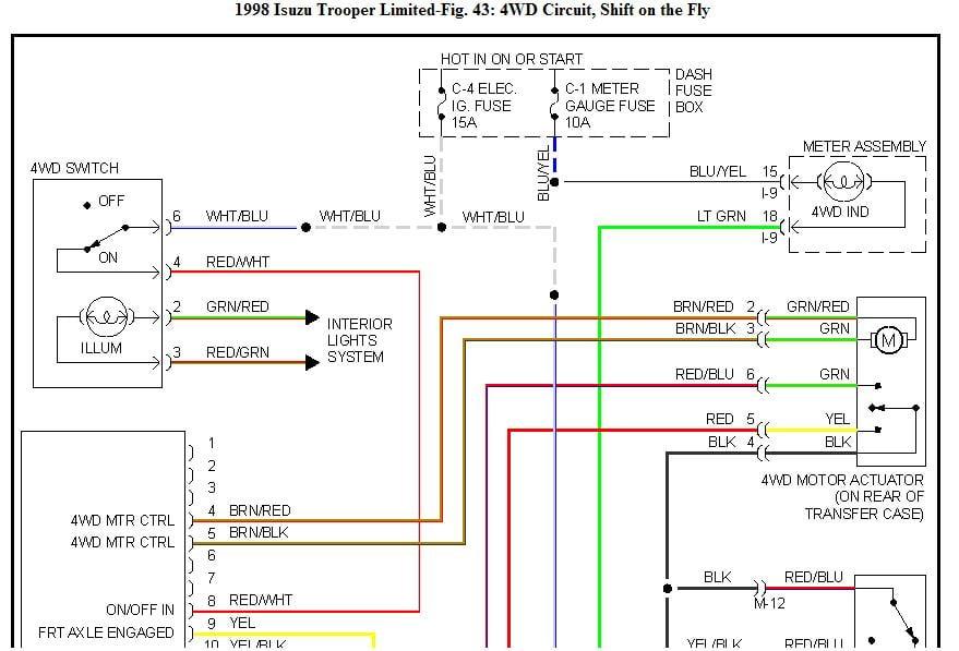 big tex trailer brake wiring diagram big horn isuzu tod wiring diagram
