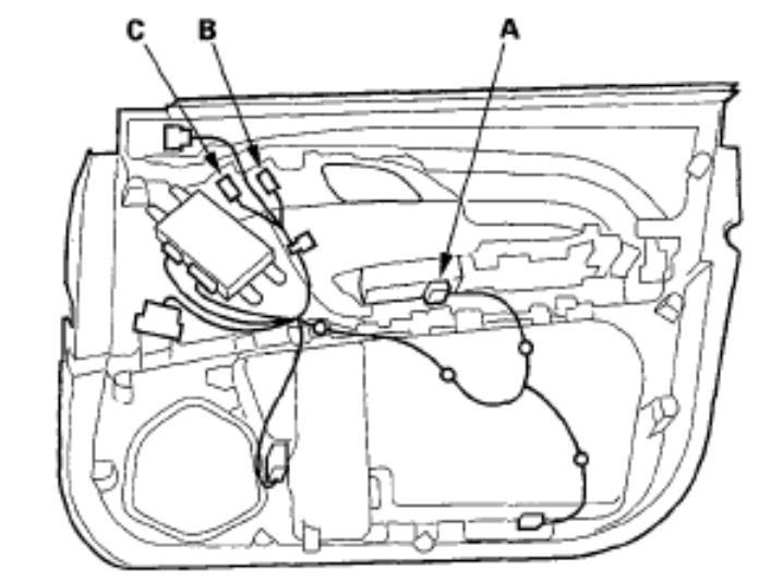 2008 acura mdx driver door panel removal
