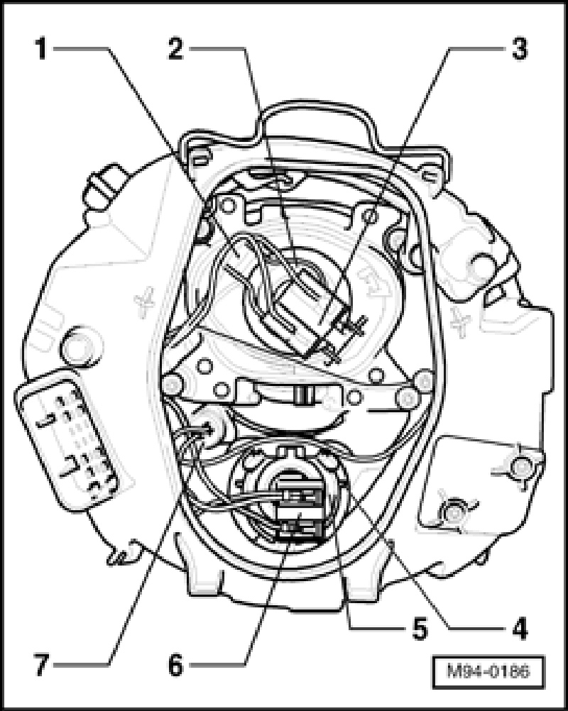 how to replace headlamp bulb in a beetle