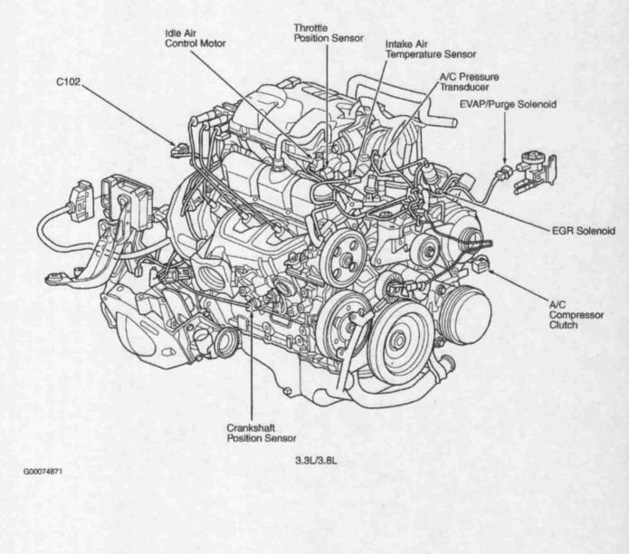 2001 dodge caravan alternator diagram