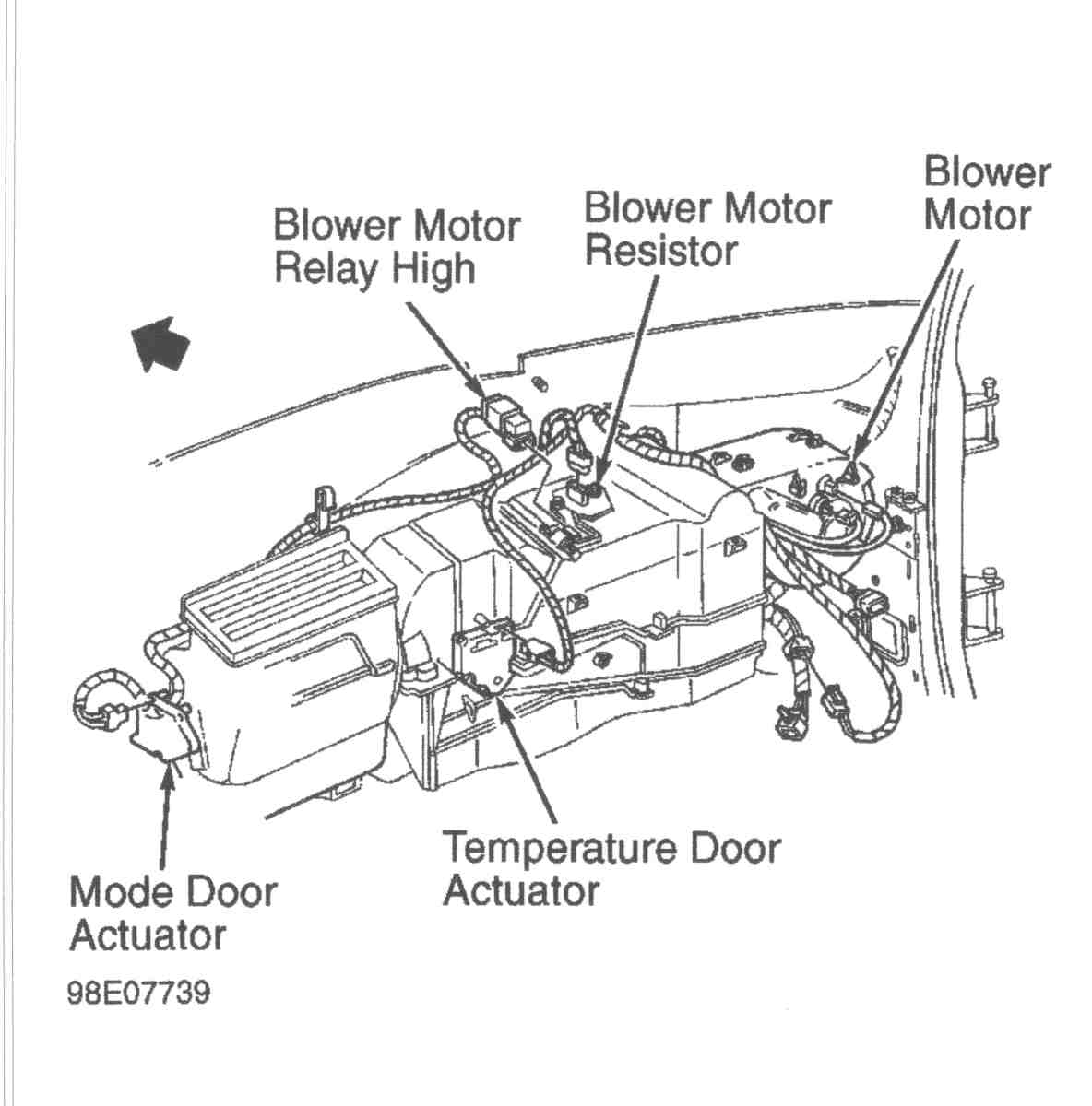99 tahoe rear air conditioner diagram 99 database wiring 1999 chevy tahoe the air conditioning fan relay switch
