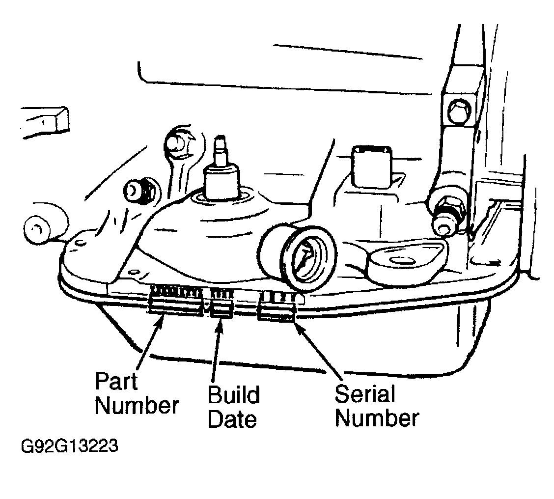 transmission pan leak
