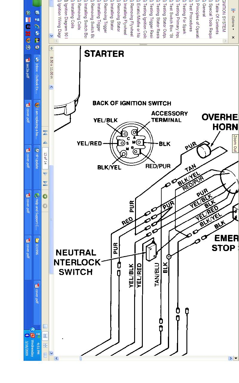 i am replacing a bad key switch on my sea rayder jet boat ... sea ray ignition switch wiring diagram 1968 camaro ignition switch wiring diagram