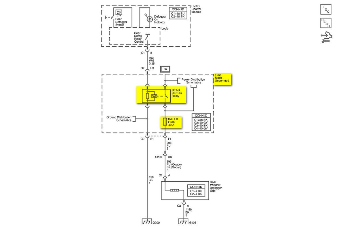 2008 12 29_144404_Impala_07_defog 2003 f150 radio wiring diagram wiring diagram Ford F-150 Wiring Harness Diagram at bayanpartner.co