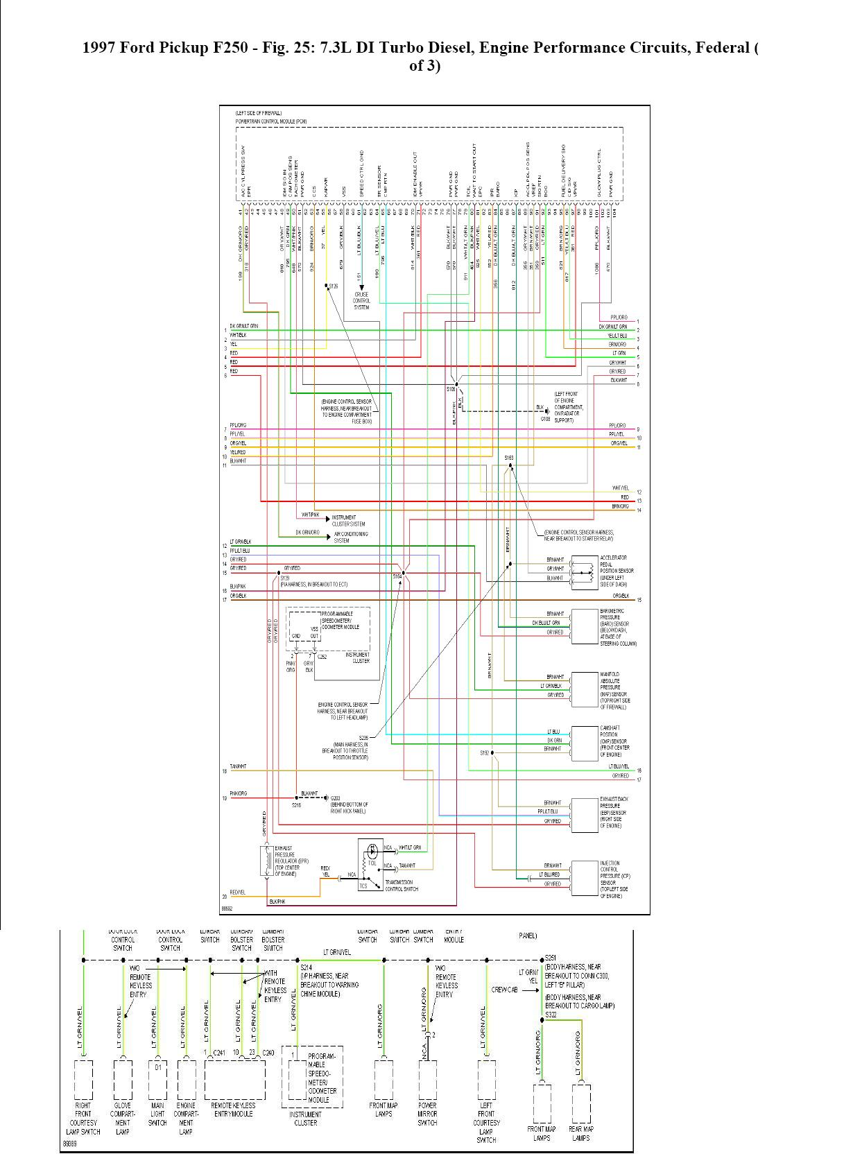2001 Ford F350 7 3 Wiring Diagram Great Design Of Trailer Fuel Pump Relay Location On A F250 1999 F 350