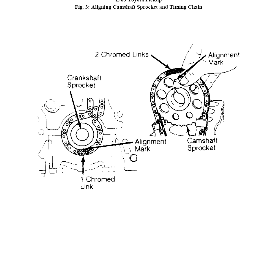 toyota 22re engine head diagrams