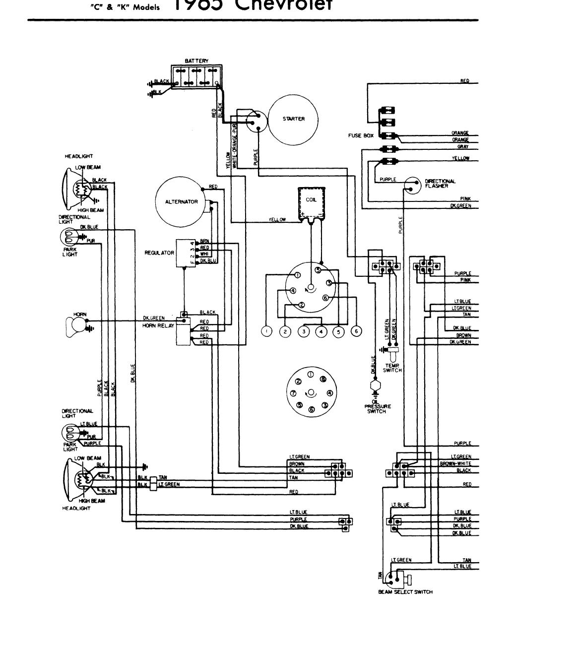 65 chevy truck engine wiring diagram  wiring  auto wiring