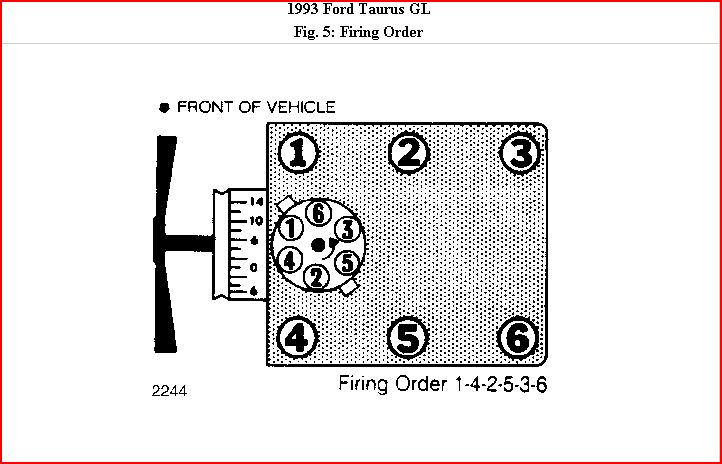 93 Ford Taurus 3 8l V6 Is It Possible To Time The Engine Wiring Diagram