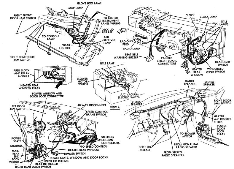 diagram further 1976 dodge aspen wiring on chrysler