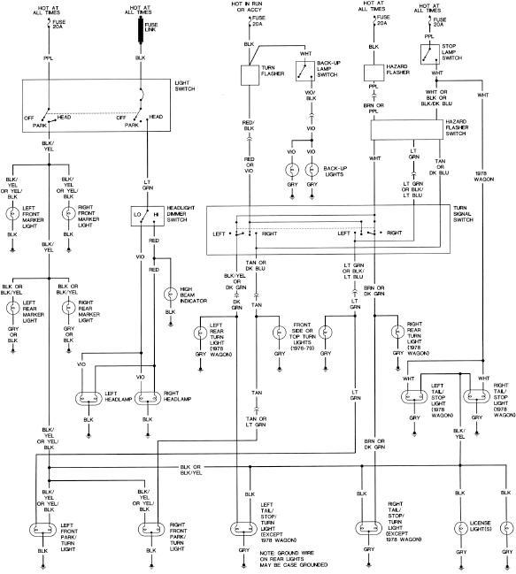 volare wiring diagram
