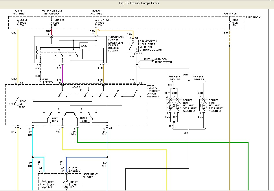 96 pontiac sunfire wiring diagram 97 pontiac sunfire wiring diagram