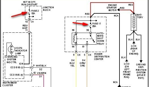radio wiring diagram 99 plymouth wiring diagram 98 plymouth voyager 1998 plymouth 3.3 voyager battery not charging. alternator ...