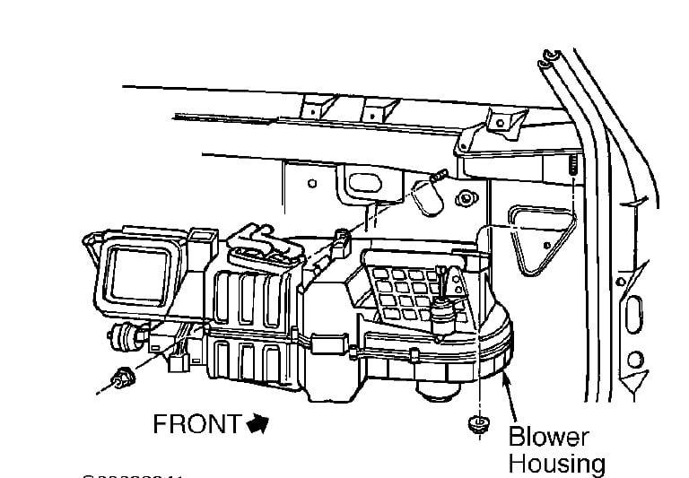 blower motor gmc 1500
