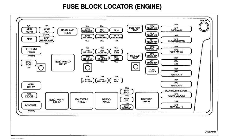 i need a diagram for the fuses in a daewoo leganza 2001. Black Bedroom Furniture Sets. Home Design Ideas