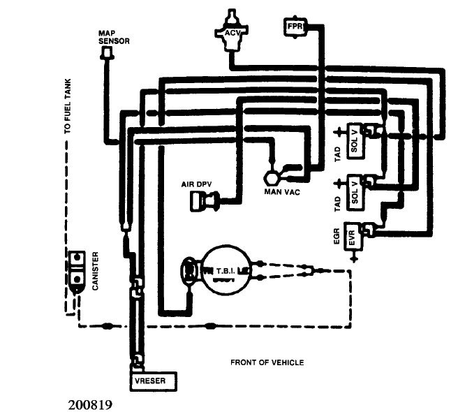 I Need Vacuum Hose Routing For Ford 5 0 1989 F150 P  U