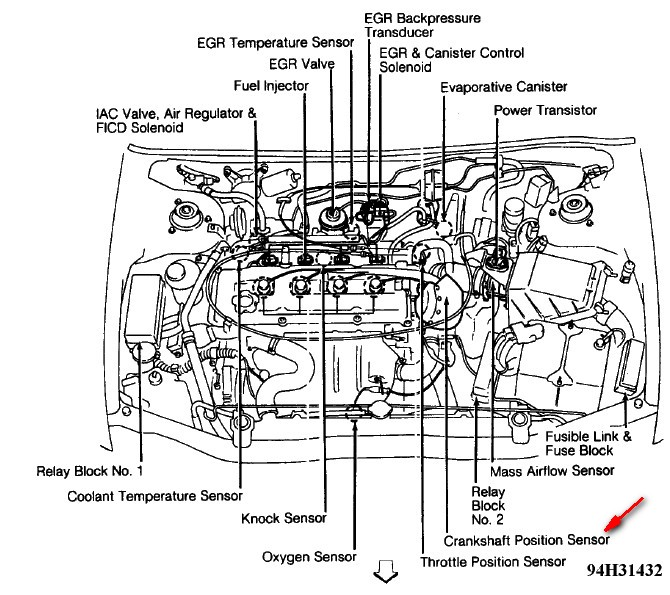 Nissan Altima Camshaft Position Sensor on 2006 Nissan Altima Fuse Box Diagram