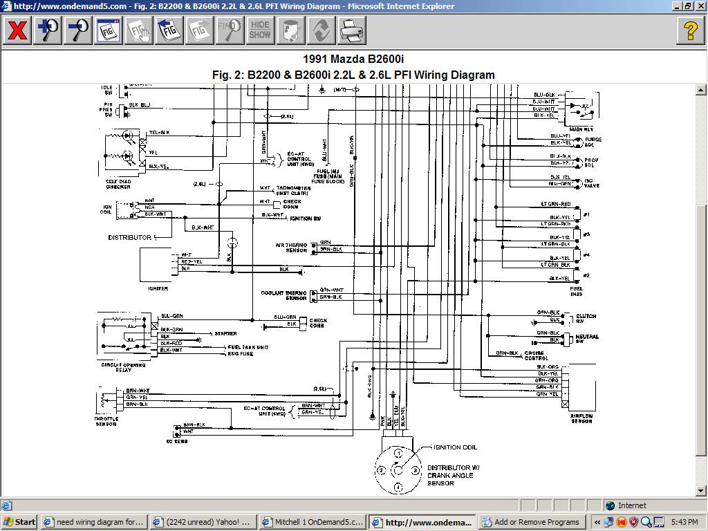 DIAGRAM] 40 Mazda B40 Distributor Diagram FULL Version HD ...