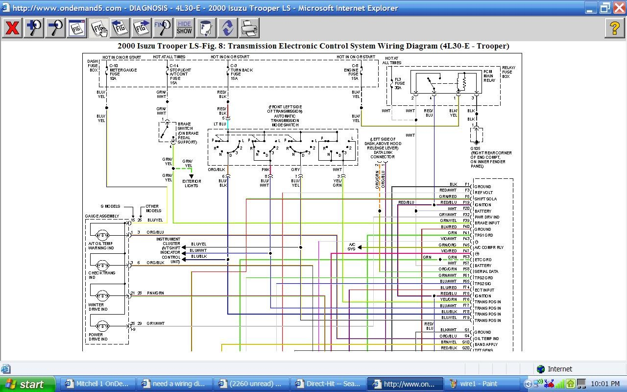 wiring diagram 2000 isuzu npr need a wiring diagram for a 2000 isuzu npr from the ... #1