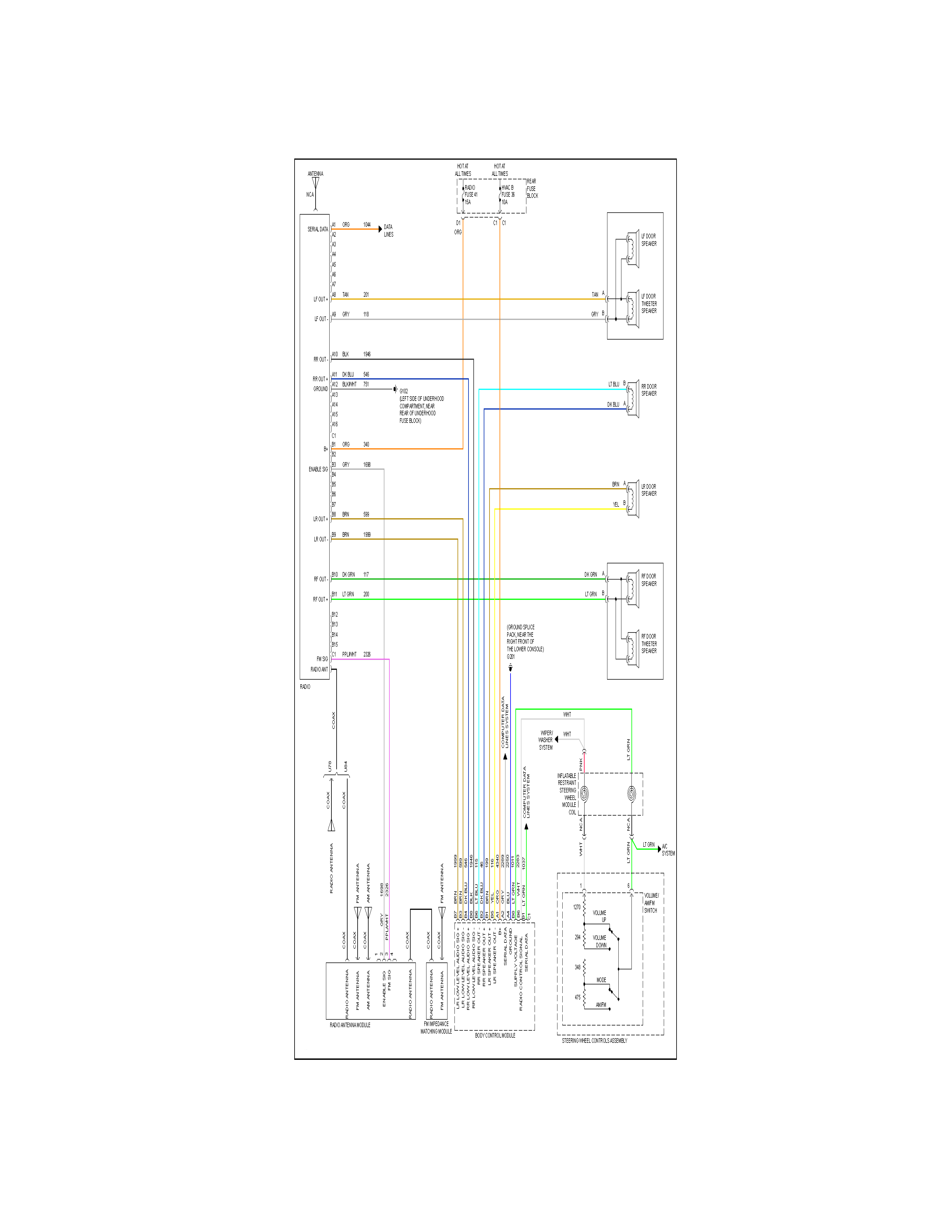 need wiring diagram for 2002 chevrolet s