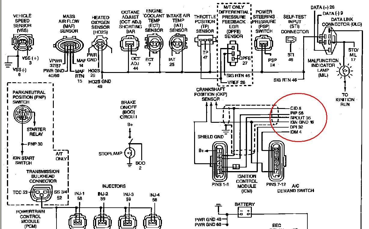 Federal Wiring on Ford Ranger Spark Plug Diagram
