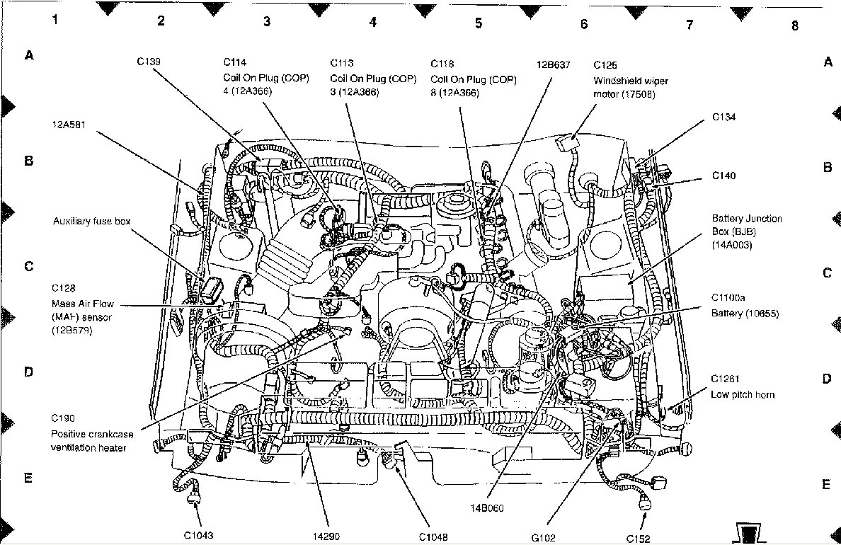 Wiring Diagram For 2008 Ford Mustang Schematics 4 2 V6 Engine Of 99 Another Blog About U2022 Jeep Liberty