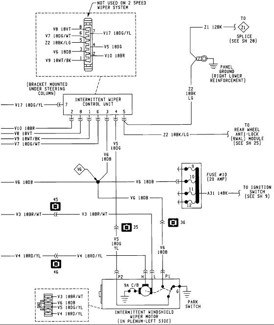 Do You Have A Diagram Of The Fuse Panal For A 1993 Dodge