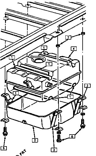 service manual  how do you replace fuel pump 1994 land