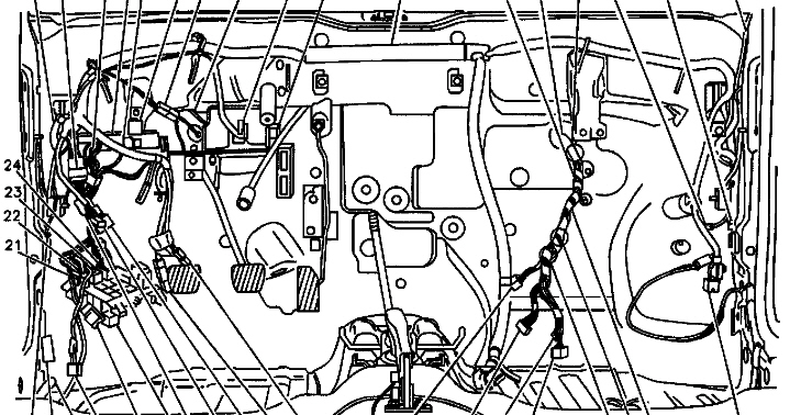metro fuses under dash glove compartment or the back seat graphic