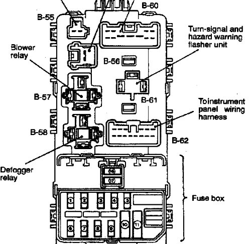 Wiring Diagram 2005 Pathfinder Le also Wiring Diagram Enlarged also Fuse Box Diagram For 2000 Dodge 1500 likewise 1midk Fuse Cigarette Lighter Located furthermore 1 5 Mitsubishi Engine Diagram. on 2000 mitsubishi mirage fuse box diagram