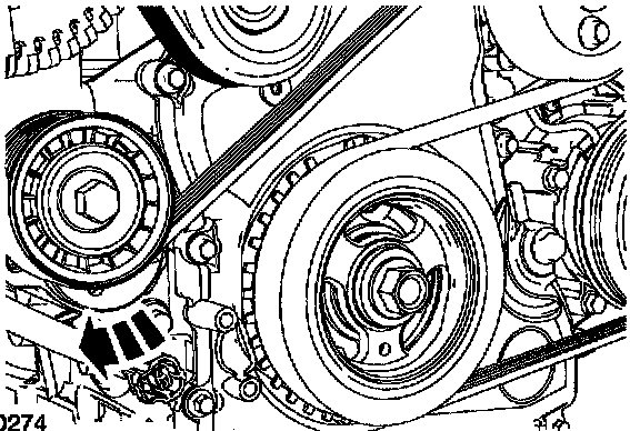 Schematic For 2005 Mazda Tribute Belt Replacement