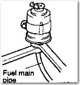 where is the fuel filter located on a  u0026 39 95 dodge avenger es