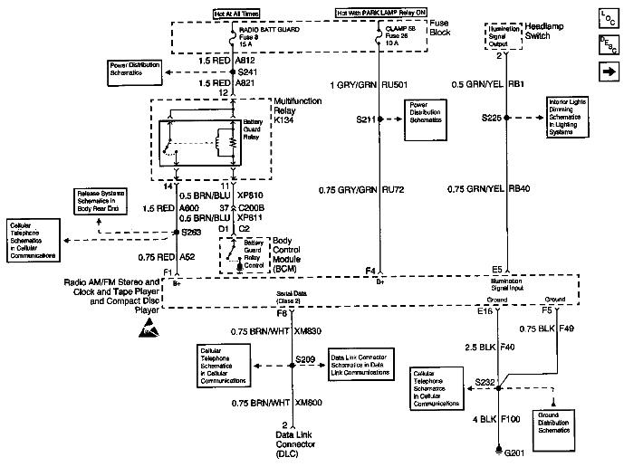 cadillac catera radio wiring diagram 1991 cadillac seville radio wiring diagram