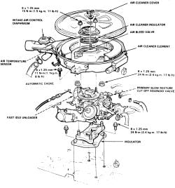 I Need An Exploded View Of A For A 1987 Honda Crx 1 5lt I