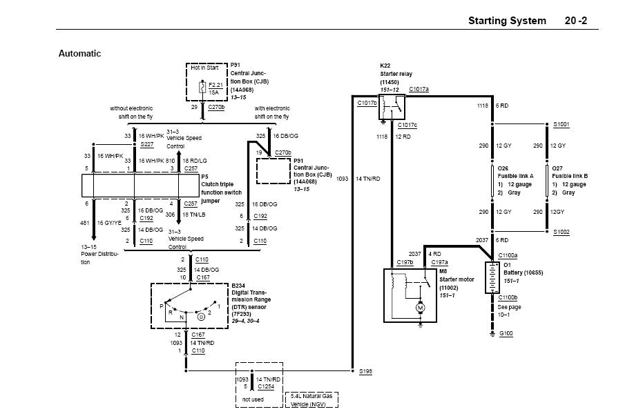 i have a 2002 f -150 4x4 /4.6 the truck has a problem ... 92 ford f 150 5 0 4x4 ignition wiring diagram 2015 ford f 150 5 0 engine diagram #11