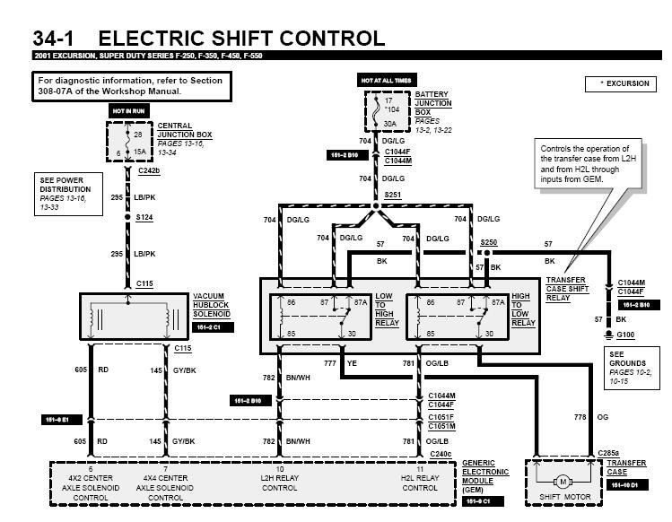 ford excursion audio wiring diagram