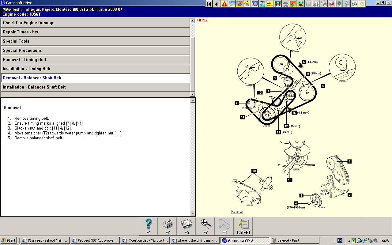 4d56 engine schematic diagram of 3l engine diagram wiring. Black Bedroom Furniture Sets. Home Design Ideas