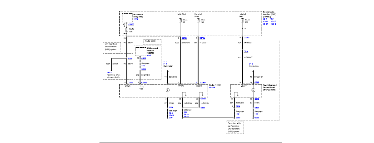 2003 f550  electrical  diagram  diesel engine 6 0