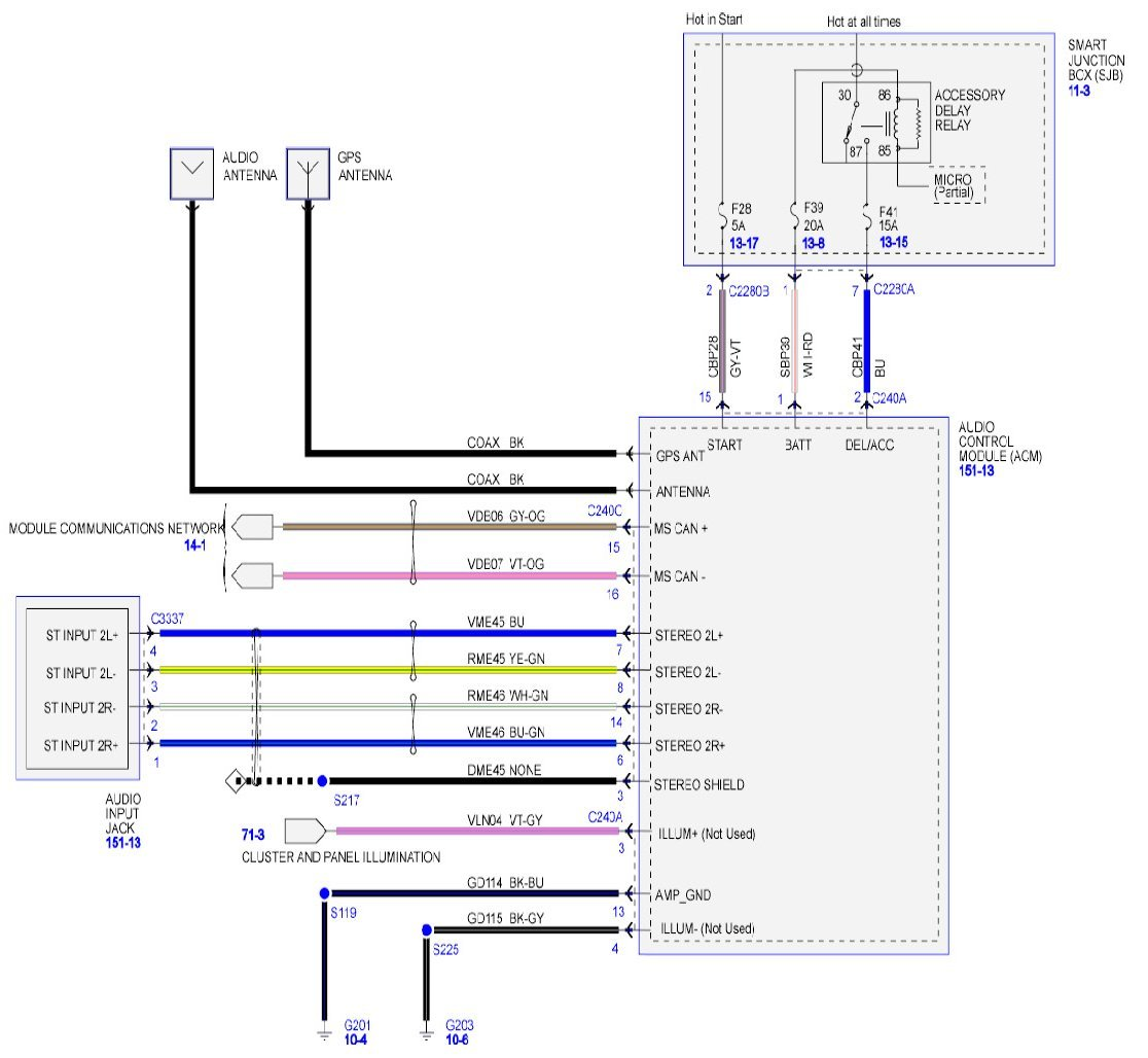 I Need The Wiring Diagram For A 2008 Ford F