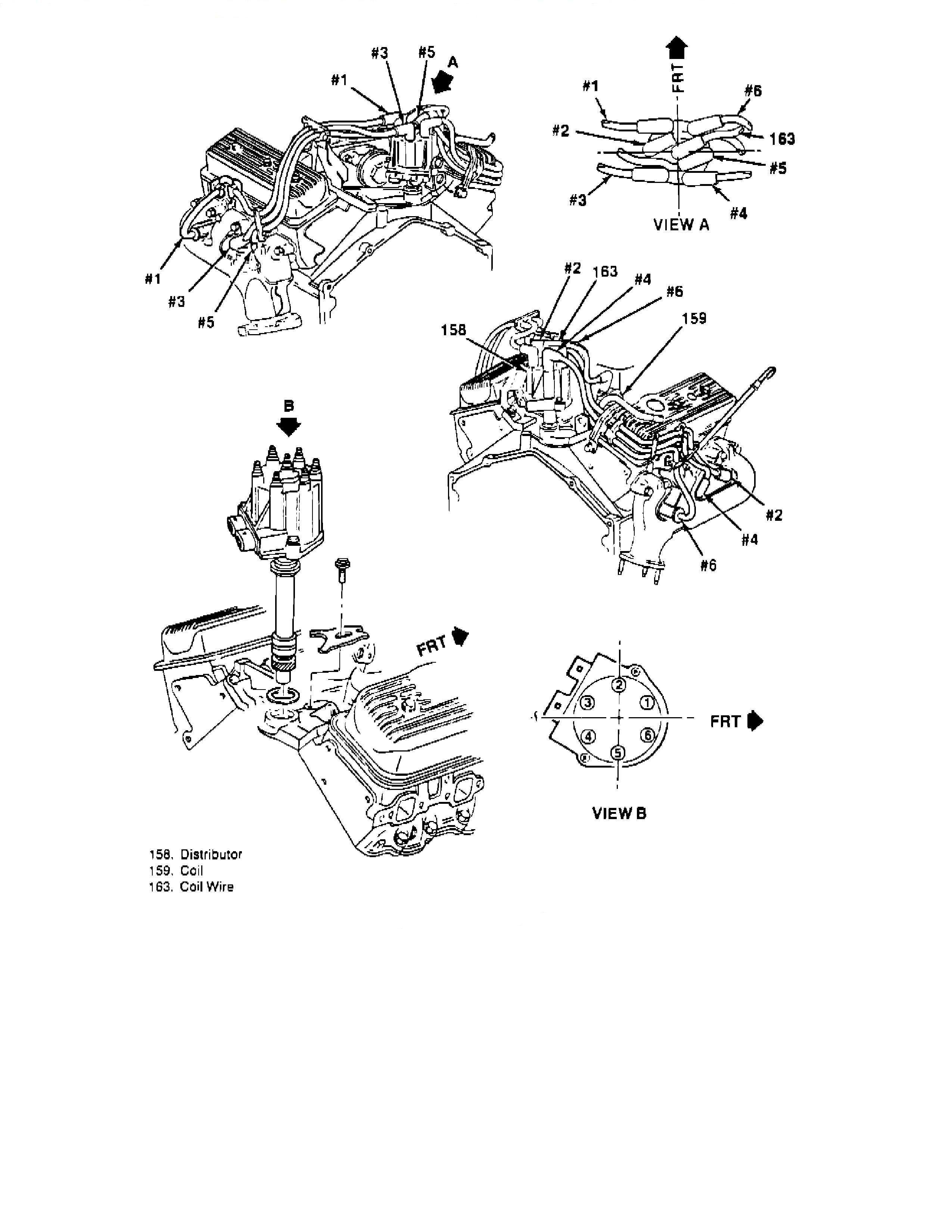 need diagram on firing order for chevy 4 3 v