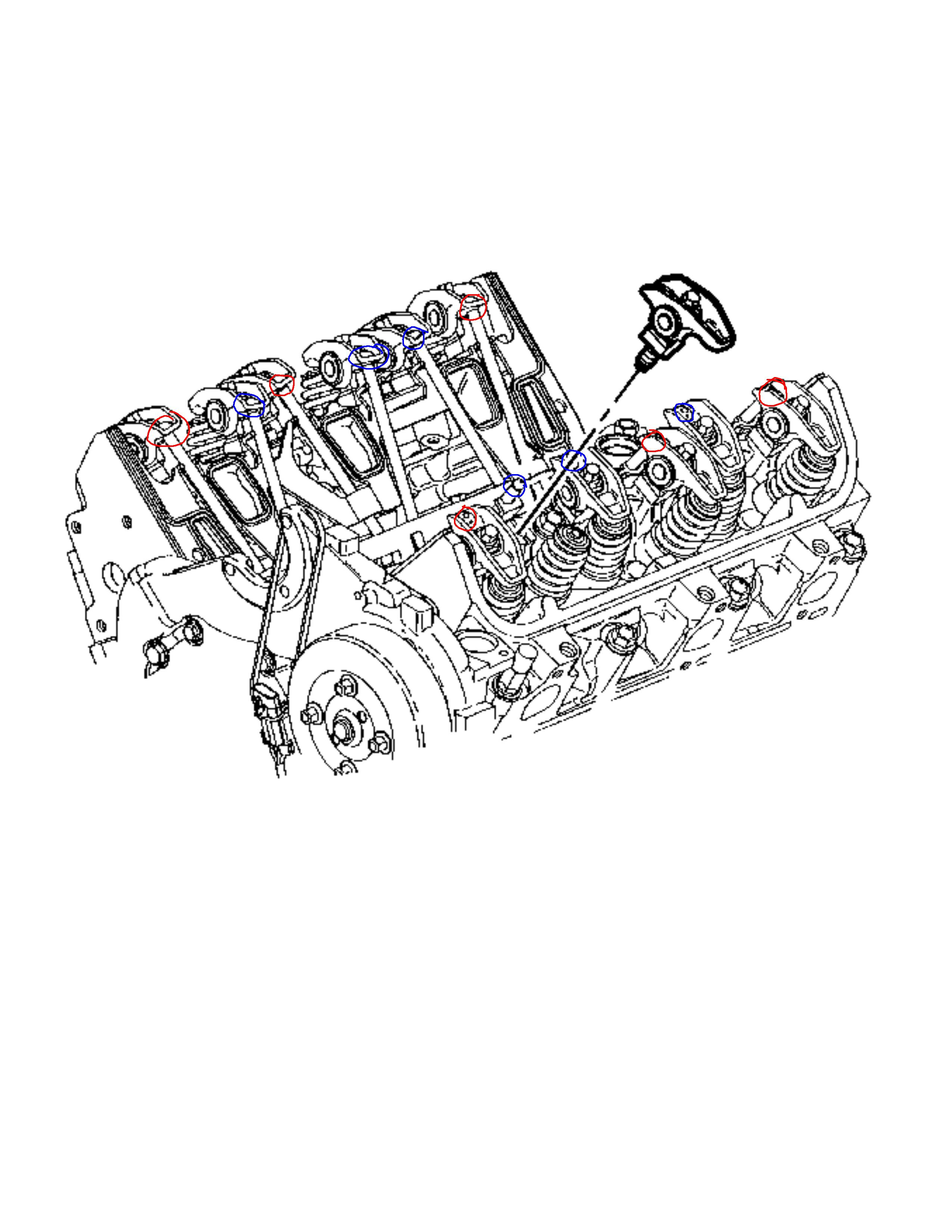 I Need A Valve Diagram For A Gm 3400 Engine  With Intake