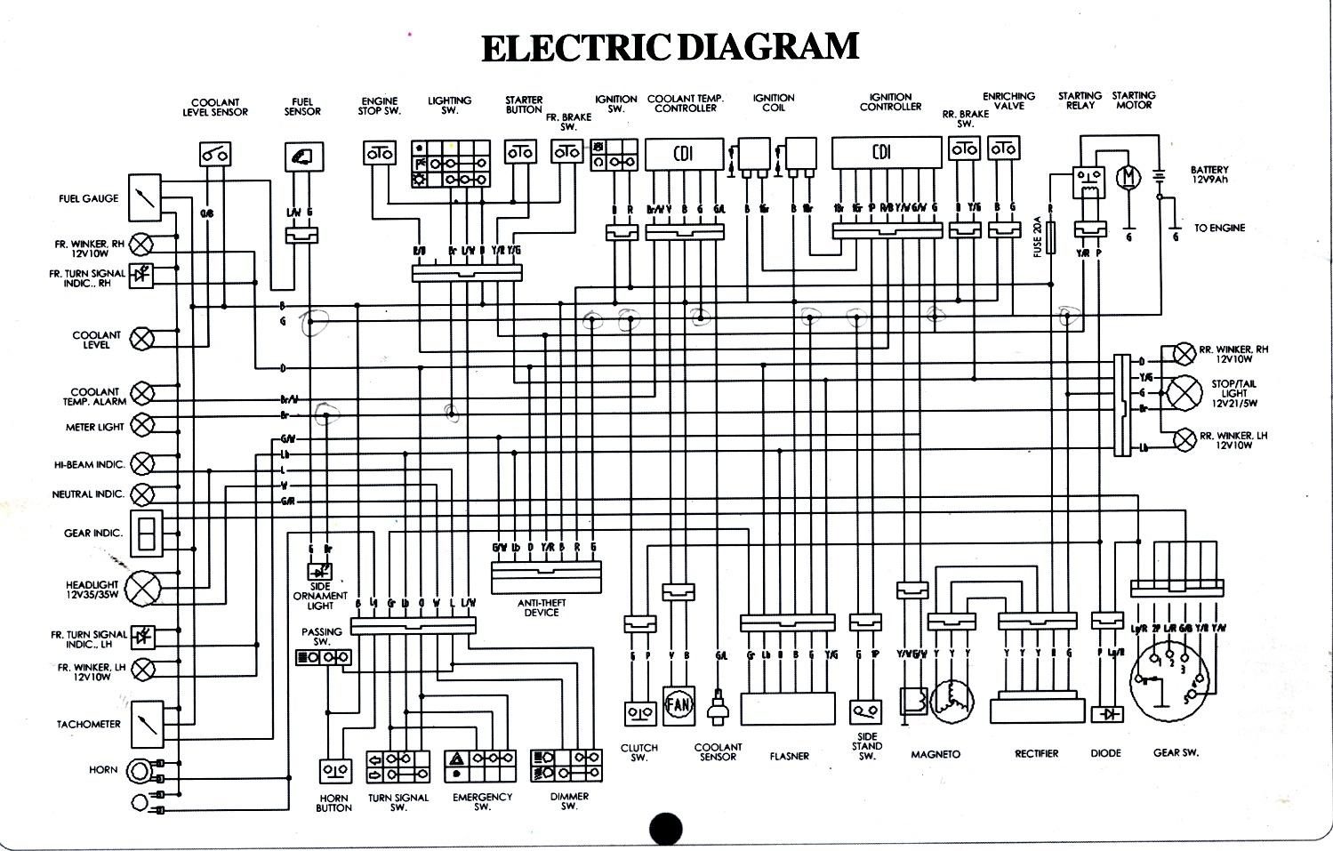 Electric Bike Diagram Cycle Electronics Wiring Diagrams