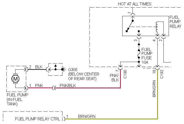 fusible link wiring diagram fusible link wiring diagram for 1999 kia sephia