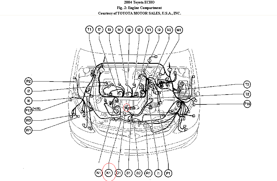 Where Does The Knocker Sensor Go In A 2003 Kia Spectra