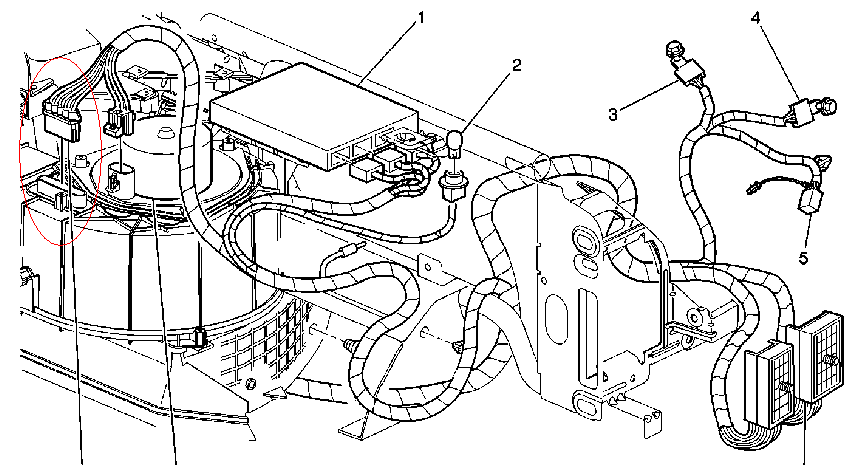 2000 chevy malibu blower motor resistor block