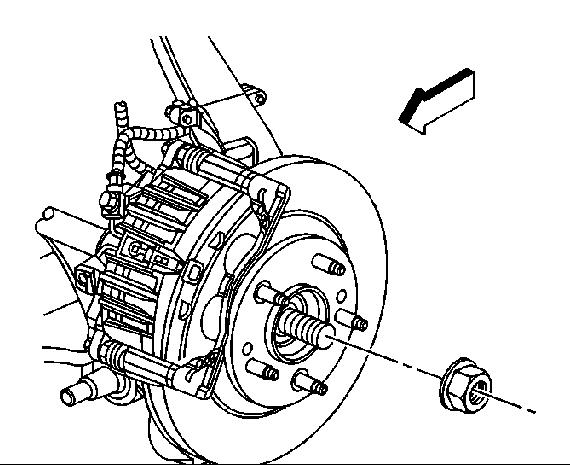 2004 Chevy Trailblazer 4wd front axle torque spec?