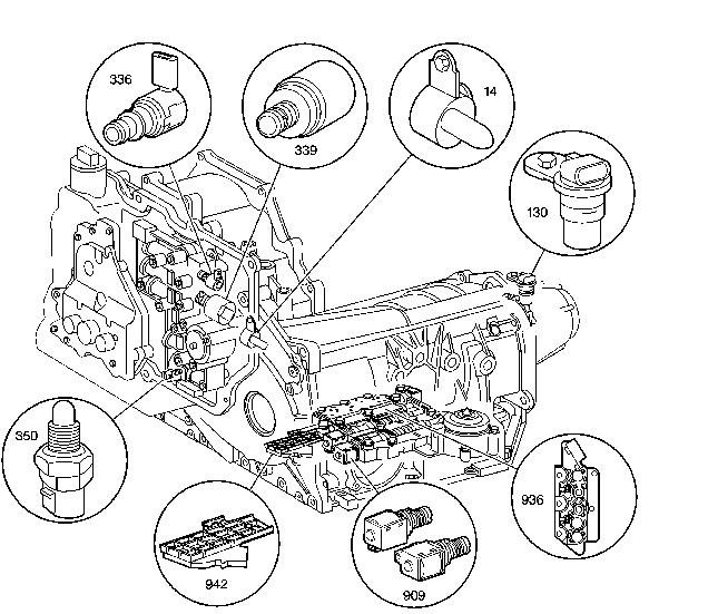 2007 honda cr v automatic transmission diagram