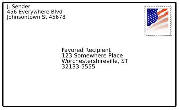 microsoft word how to add address to right hand corner