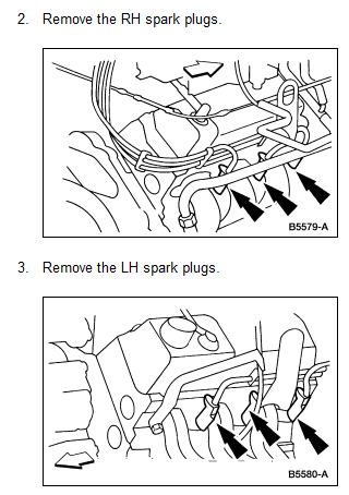 how to change spark plugs on ford territory