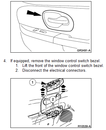 How do i remove door panel on a 2003 f150 so i can replace for 05 f150 door panel removal